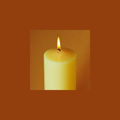 Beeswax Altar Candle